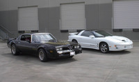 Highlight for Album: 1978 and 2002 Trans Am